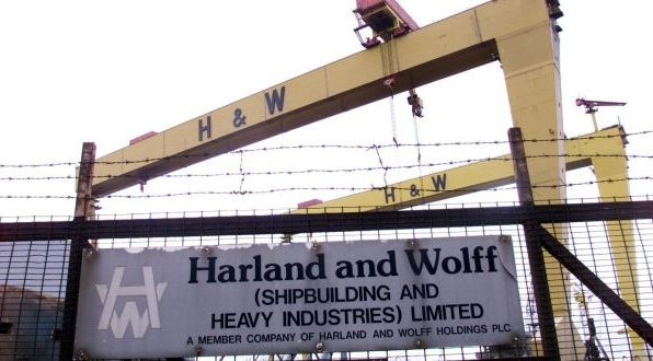 CSEU calls for government action at Harland & Wolff