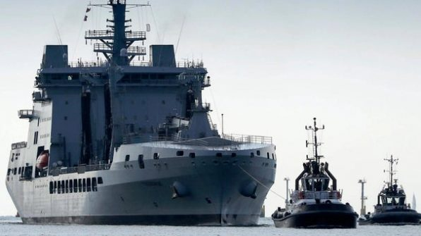 MPs fire salvo in £1bn Navy contract row