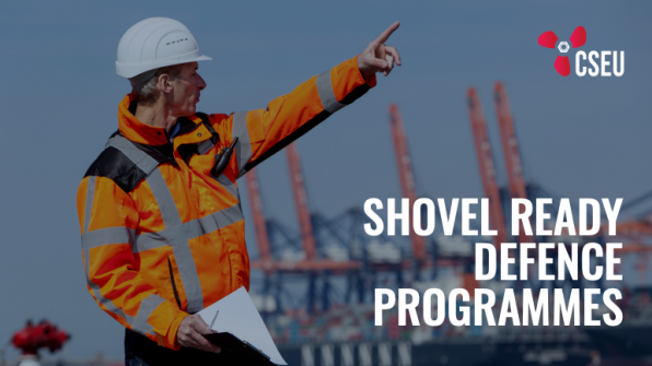 Shovel ready defence programmes